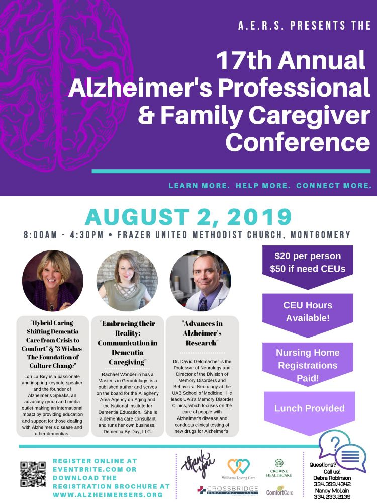 17th Annual Alzheimer's Professional & Family Caregiver Conference